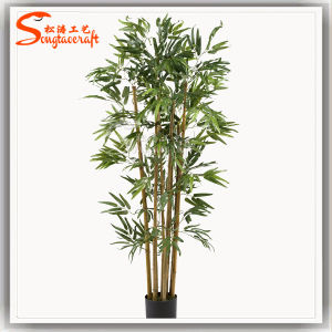 Venda a quente 3 M de árvore de bambu artificial de plantas de bambu