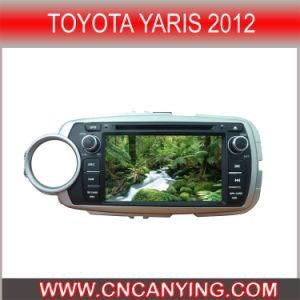 GPS를 가진 Toyota Yaris 2012년, Bluetooth를 위한 특별한 Car DVD Player. (CY-7520)