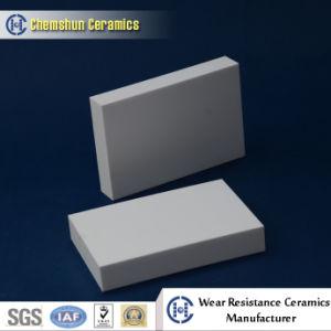 Плита износа упорного глинозема ссадины керамическая для предохранения от износа