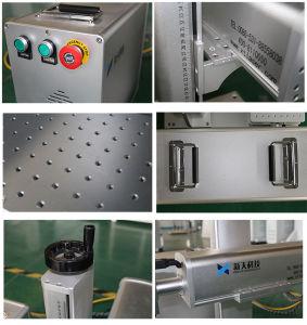Macchina tenuta in mano portatile della marcatura del laser di colore della fibra di Mopa
