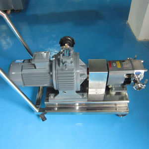 Edelstahl Hygienic Rotary Pump mit Stepless Speed Regulation