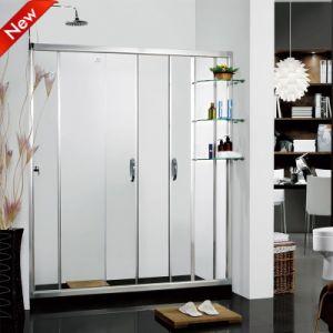 Moderne Frameless Badezimmer-ausgeglichenes Glas-Dusche, ausgeglichenes Glas-Dusche, Badezimmer-ausgeglichenes Glas-Dusche