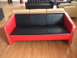 赤およびBlack Sorted Color New Model Sofa Sets Pictures