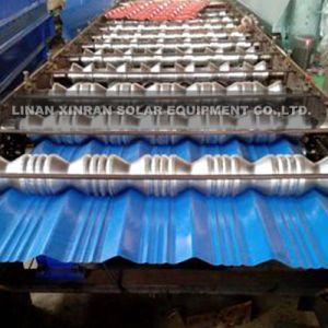 Machine de formage de rouleaux de carreaux vitrés en tôle ondulée Machines de cintrage