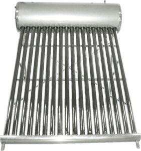 calentador de agua solar de tubos de vacío a baja presión