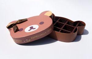 2017 Venta caliente rígido hecho a mano cajas de bombones de chocolate, conjuntos de cajas, cajas de embalaje de chocolate