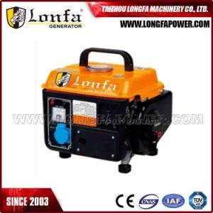 0.4kw/400watt Lonfa kleiner Benzin-Generator mit Anfall zwei