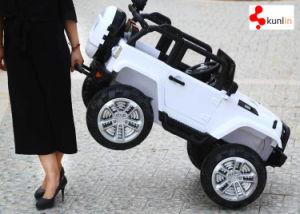 熱い販売の2つのシートのペダル車は、2.4G R/Cの音楽およびライトの、柔らかい革シート車をからかう