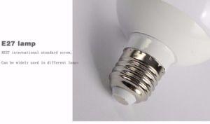 Lampadina bianca led della lampadina del globo led della lampada