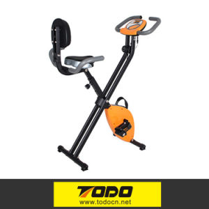 Body Fit Resistência magnética Gym Folding Upright Exercise Bicicleta magnética
