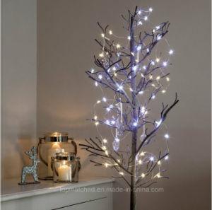 b711aa1aadc 40 Micro Batería LED blanco cálido de Estrellas de la luz de la cadena de  Navidad