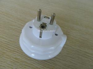 9LED tres versión en color del botón de cambio de color de la fotocelda LED Sensor de luz de noche con adaptador