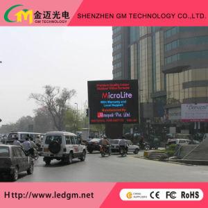 P16мм для использования вне помещений полноцветный светодиодный знак для видео рекламы (4*3м, 6*4м, 10*6m LED) дисплеев с единичным параметром