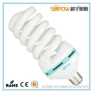 Volle Spirale T4 60W CFL energiesparende Lampe beleuchtend