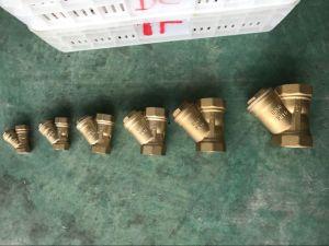Y типа санитарных латунный фильтр для воды трубопровода