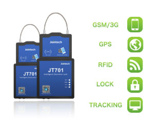Bloqueio Eseal GPS Tracker para rastreamento de contêineres e carga Solução de Segurança