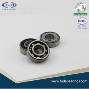 F&D 2RS 6203 rodamientos rodamientos de rodillos de acero cromado