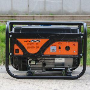バイソン(中国) BS2500b 2kw 2kVAの小さい世帯の工場価格の燃料は自己の連続した発電機を保存する