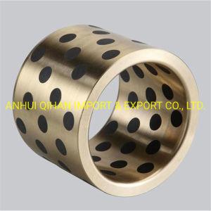 Bucha do Rolamento de bronze com lubrificantes sólidos de rolamento do rolamento de um bucha de bronze