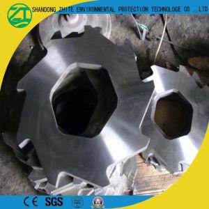 높은 산출 양축 플라스틱 또는 나무 또는 거품 또는 타이어 또는 금속 조각 슈레더
