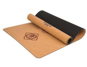Goma Cork actividad Multiuso Estera Del Yoga Pilates para la Adecuación ecológica