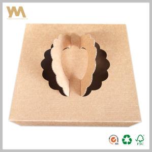Caja de regalo dulces de papel de embalaje Caja de tarta de chocolate