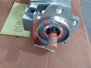 Pompa a ingranaggi del selezionatore Ass'y per KOMATSU Gd825. Lavorare i pezzi di ricambio alla macchina della pompa 705-61-22010 parti del caricatore di KOMATSU Wa20 della pompa dell'idraulica di /Genuine