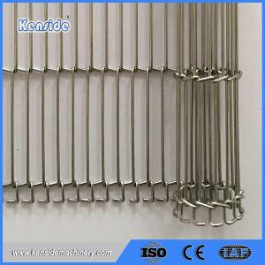 La malla de alambre cinta transportadora de recubrimiento de proceso de caramelo