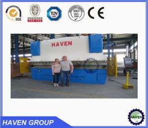 Maquinaria hidráulica doblando, doblando el equipo de la placa de acero
