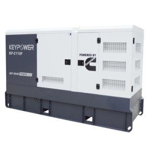 72Kw Sistema refrigerado por agua tipo silencioso Generador Diesel con motor Cummins