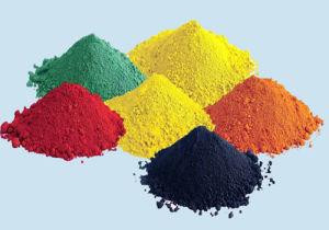 Geel Oxyde 920 voor het Pigment en het Beton van het Asfalt