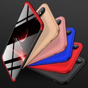 3 In1はiPhoneのXs最大Xrのケース360のためのパソコンの堅いプラスチックカバーを細くする