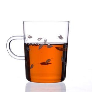 Fabrik-Verkaufs-hitzebeständige einzelne Wand-Glascup mit Griff