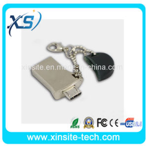Новейший Hotselling 2ГБ OTG металлический флэш-накопитель USB (XST-O006)