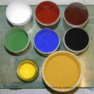 Het chemische Synthetische Oxyde van het Ijzer van het Pigment Fe2o3 95% in Rode Geel en Zwart voor de Bouwmaterialen van het Blok van de Betonmolen