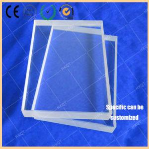 석판인쇄술을%s 석영 유리 기질