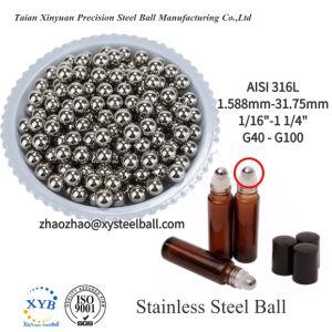 Ss440 feste magnetische Edelstahl-Ventil-Kugel der Kugel-6mm