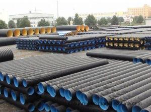 Usato per i tubi ondulati della plastica di basso costo del tubo dell'HDPE delle acque luride