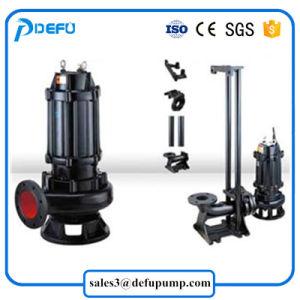 Gran capacidad de la bomba eléctrica sumergible de aguas residuales con rodete de corte