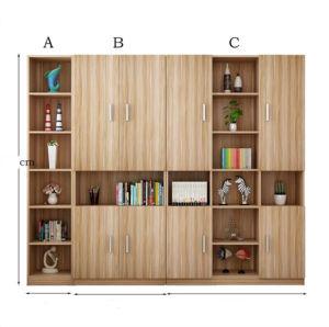 Große freie Kombination des Buch-Schrank-Bücherschranks