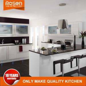 Beste moderne Australien-Art weißer anstreichender Lacpuer Küche-Schrank