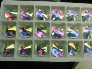 De Kleur van ab naait op Parels Crystalab