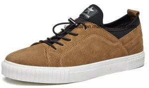 Informal cuero calzado Skate zapatillas hombres zapatos (893)