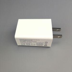 VI AC DC 저희 세륨 GS FCC Bis PSE Kc 증명서를 가진 EU 인도 플러그 5V 1A /2A USB 힘 접합기