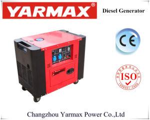5kw scelgono il generatore elettrico silenzioso eccellente del diesel di inizio del cilindro