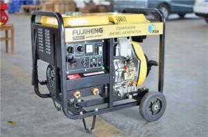 5KW Gerador Soldador Diesel / Gasolina máquina de solda