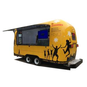 Chariot mobile pour la vente des aliments