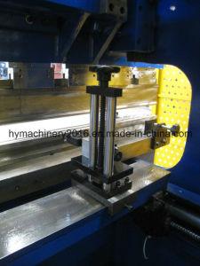 WC67S-160X4000 Placa de acero hidráulica máquina de doblado