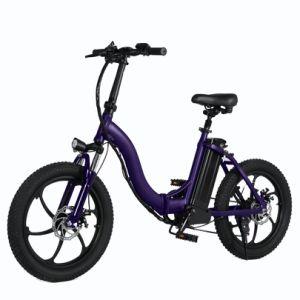 Neumático FAT de 20 pulgadas 350W 48V Bicicleta eléctrica