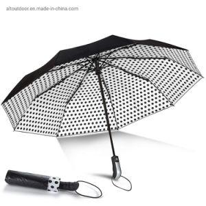 21дюйма полностью автоматическая портативный солнцезащитная шторка и Super Repellency поездки лучший автоматический выключатель ветра зонтик